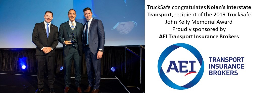 2019 JK Memorial Award Nolans Interstate Transport
